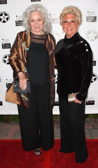 Lee Meriwether and Mitzi Gaynor at the Hollywood Arts Council's 30th Anniversary Gala.