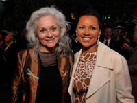 Lee Meriwether and Vanessa Williams at the Hollywood Arts Council's 30th Anniversary Gala.