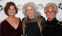 Nyla Arslanian, Lee Meriwether and Mitzi Gaynor at the Hollywood Arts Council's 30th Anniversary Gala.