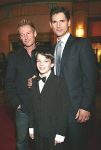 Richard Roxburgh, Kodi Smit-McPhee and Eric Bana at the Melbourne premiere of