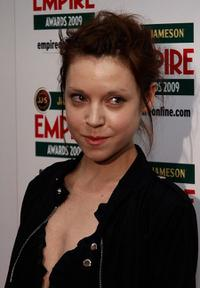 Antonia Campbell-Hughes at the 2009 Empire Film Awards.