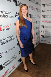 Mireille Enos at the Hollywood Reporter's Annual Next Generation Reception in California.