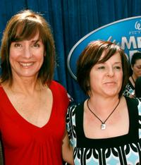 Laurie Metcalf and Guest at the world premiere of