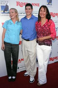 Laurie Metcalf, Alicia Goranson and Michael Fishman at the DVD launch of