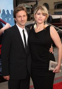 Breckin Meyer and Deborah Kaplan at the world premiere of