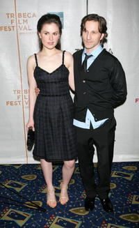 Anna Paquin and Breckin Meyer at the premiere of