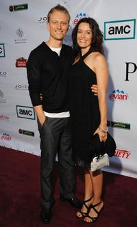 Neil Jackson and his girlfriend Kylie Furneaux at the after party of the premiere of