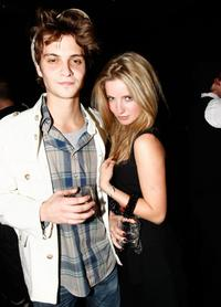 Luke Grimes and Annabelle Wallace at the Burberry and GQ celebrate Burberry the Beat For Men.
