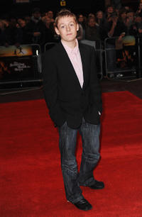 Thomas Turgoose at the London premiere of