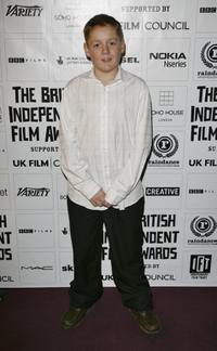 Thomas Turgoose at the British Independent Film Awards.
