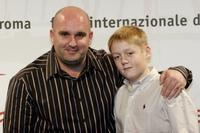Shane Meadows and Thomas Turgoose at the photocall of