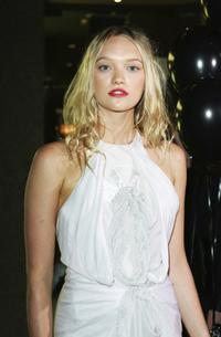 Gemma Ward at the premiere of