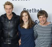 Alexander Fehling, Miriam Stein and Volker Bruch at the photocall of