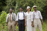 Jermaine Williams, Denzel Whitaker, Jurnee Smollett and Nate Parker in