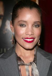 Michael Michele at the premiere of