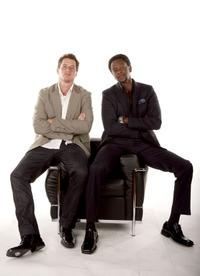 Brendan Fehr and Edi Gathegi at the 2007 CineVegas film festival.