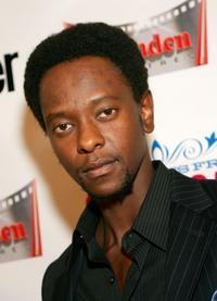 Edi Gathegi at the world premiere of