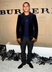 Rafi Gavron at the grand re-opening of Burberry Beverly Hills store.