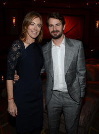 Director Kathryn Bigelow and Mark Boal at the after party of the California premiere of