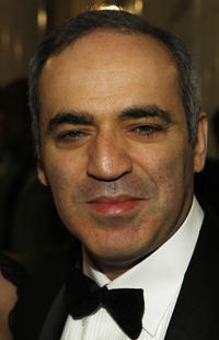 Garry Kasparov at the 7th Annual Cinema for Peace Gala in Berlin.