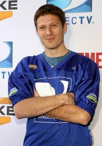 Zach Gilford at the DIRECTV's 3rd Annual Celebrity Beach Bowl.