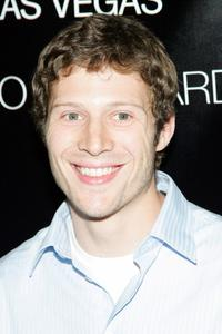 Zach Gilford at the concert by the band The Killers at Hard Rock Hotel & Casino.