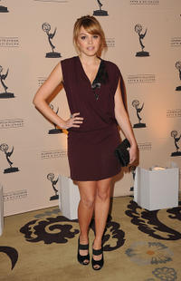 Aimee Teegarden at the 4th Annual Television Academy Honors in California.
