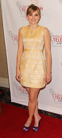 Aimee Teegarden at the 32nd Annual College Television Awards in California.