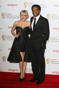 Sheridan Smith and Chiwetel Ejlofor at the 2013 Arqiva British Academy Television Awards.