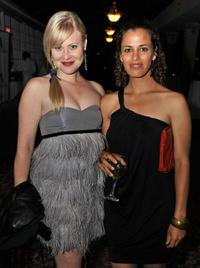 Kristin Booth and Athena Karkanis at the Toronto International Film Festival.