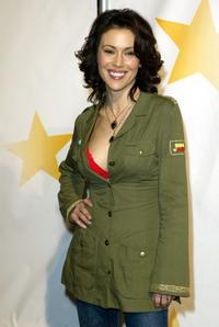Alyssa Milano at the Rockin' The Corps, An American Thank You Celebration Concert.