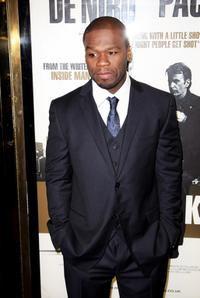 Curtis Jackson at the UK premiere of