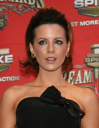Kate Beckinsale at the press room for Spike TV's 'Scream Awards 2006'.