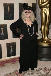 Sylvia Miles at the Official Oscar Night party.