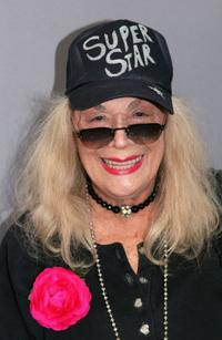 Sylvia Miles at the Olympus Fashion Week Spring 2006.