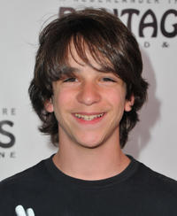 Zachary Gordon at the California Opening Night of