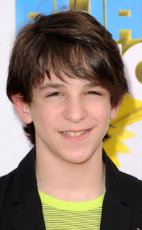 Zachary Gordon at the Nickelodeon's 24th Annual Kids' Choice Awards in California.