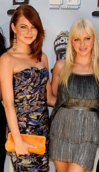 Emma Stone and Anna Faris at the 17th Annual MTV Movie Awards.