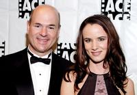 Larry Miller and Juliette Lewis at the 54th Annual ACE Eddie Awards.