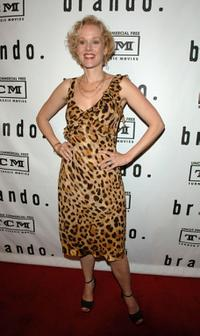 Penelope Ann Miller at the premiere screening and party of TCM's Brando.