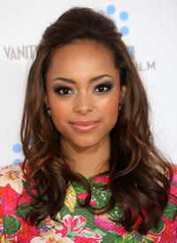 Amber Stevens at the premiere of