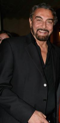 Kabir Bedi at the Rome Film Festival.