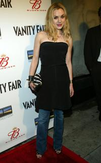 Rachel Miner at the Vanity Fair, Budweiser & Triggerstreet.com event to celebrate the Budweiser Filmmaker Discovery Award.