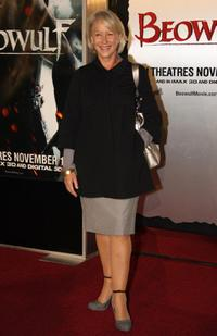 Helen Mirren at the film premiere of