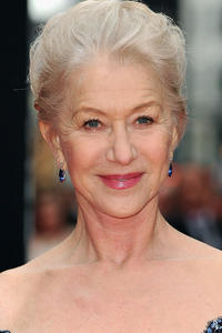 Helen Mirren at the Laurence Olivier Awards in London.