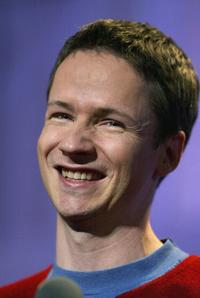John Cameron Mitchell at the Sundance Film Festival awards show.