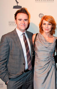 Kathleen Rose Perkins and Guest at the Academy of Television Arts and Sciences' Writers Peer Group Reception Celebrating the 63rd Primetime Emmy Awards in California.