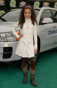 Madison Pettis at the Chevy Rocks The Future at Buena Vista Lot.