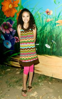 Madison Pettis at the
