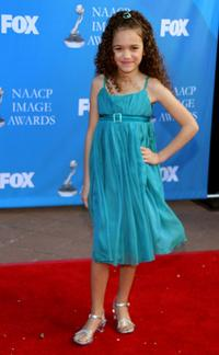 Madison Pettis at the 39th NAACP Image Awards.